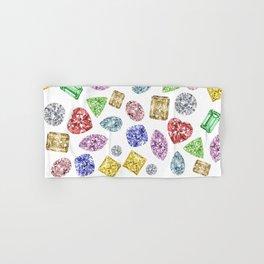 Gems pattern Hand & Bath Towel