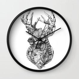 Deer Diary Wall Clock