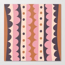 Rick Rack Candy Canvas Print