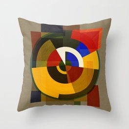 Abstract Deco ONE Throw Pillow