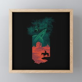 Final Frontiersman Framed Mini Art Print