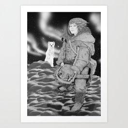 Lyra Belacqua Art Print