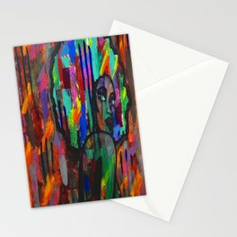 Afro babe Stationery Cards