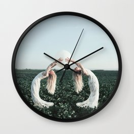 Fight with yourself Wall Clock