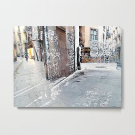Force the corners, and horn in on the commotion, 1 Metal Print