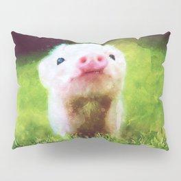 CUTE LITTLE BABY PIG PIGLET Pillow Sham