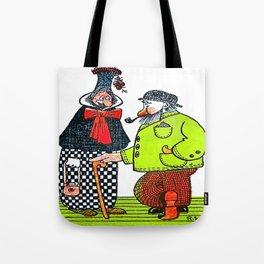 Cartoon comics 4 Tote Bag