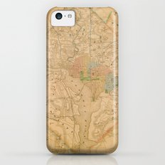 Civil War Washington D.C. Map Slim Case iPhone 5c