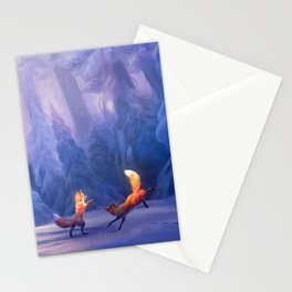Fox play Stationery Cards