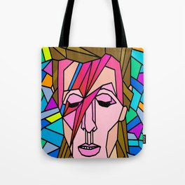 VITRAL BOWIE Tote Bag