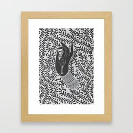 God's hand Framed Art Print
