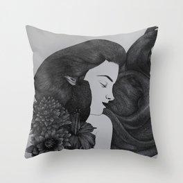 Octubre Throw Pillow