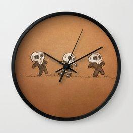 Little Skull Men Wall Clock