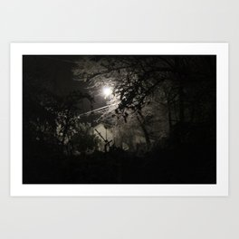 Snowy Nights Art Print