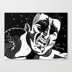 Glass Jaw Canvas Print