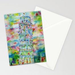 LEANING TOWER OF PISA Stationery Cards