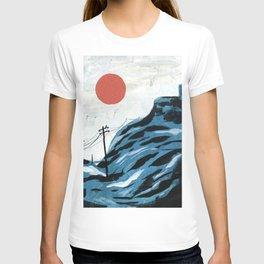 Watching the Impending Sunset T-shirt