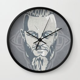 VIKING KING RAGNAR Wall Clock