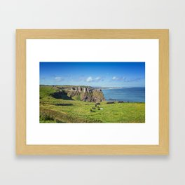 The Atlantic Ruin Framed Art Print