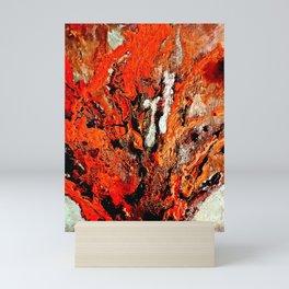 A Coral's Flamboyance Mini Art Print