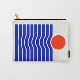 Going down-modern abstract Carry-All Pouch
