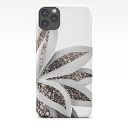Agave Finesse Glitter Glam #1 #tropical #decor #art #society6 iPhone Case
