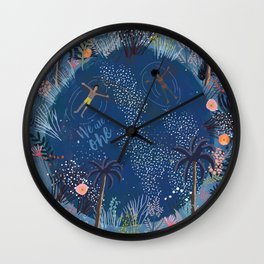 We are one Wall Clock