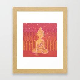 Buddha E Framed Art Print