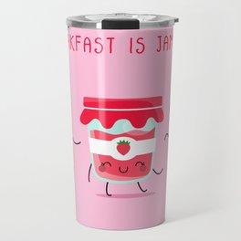 Breakfast Is Jammin' Travel Mug