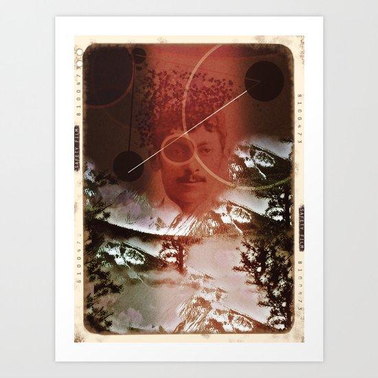 nomadic Art Print