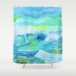Wave 2.7 Shower Curtain