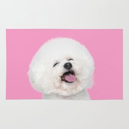Laughing Puppy Rug