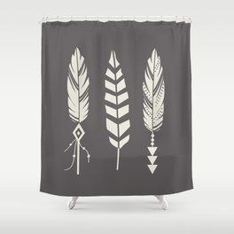 Gypsy Feathers Shower Curtain