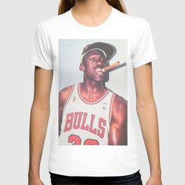 Mi-chael Jordan championship White T-shirt Sizes Available T-shirt