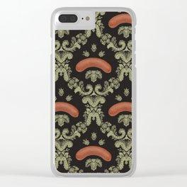 WURSTIG • ◊ • SCHWARZWALD Clear iPhone Case