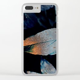 Gothic Autumn Clear iPhone Case