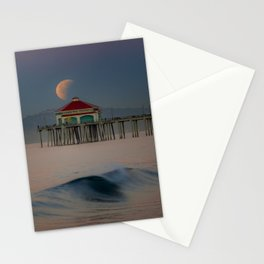 2018 Super Blue Moon Lunar Eclipse Stationery Cards
