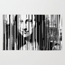 Mona Lisa Barcode Huge Limited Print 2017 Rug