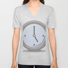 Clock Five Unisex V-Neck