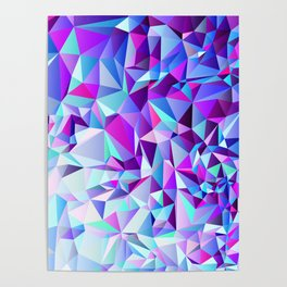 PURPLE+TEAL Poster