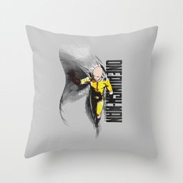 The most powerful hero alive Throw Pillow