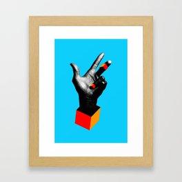 Massive Framed Art Print