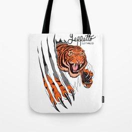 Geppetto Tiger Rip Tote Bag