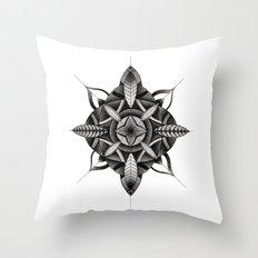 FLWR3 Throw Pillow