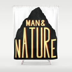 Man & Nature Shower Curtain