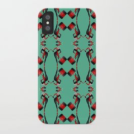 Harley pattern iPhone Case