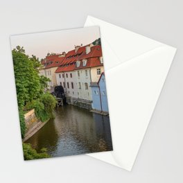 Water Mill, Kampa Island, Prague, Czech Republic Stationery Cards