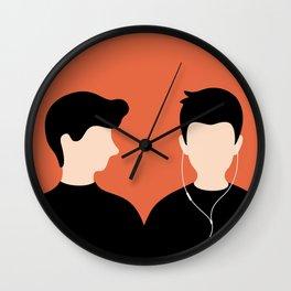Urban Hermit - music addiction Wall Clock