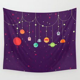 Halloween's Galaxy Wall Tapestry