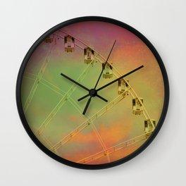 Travel Dreams Wall Clock